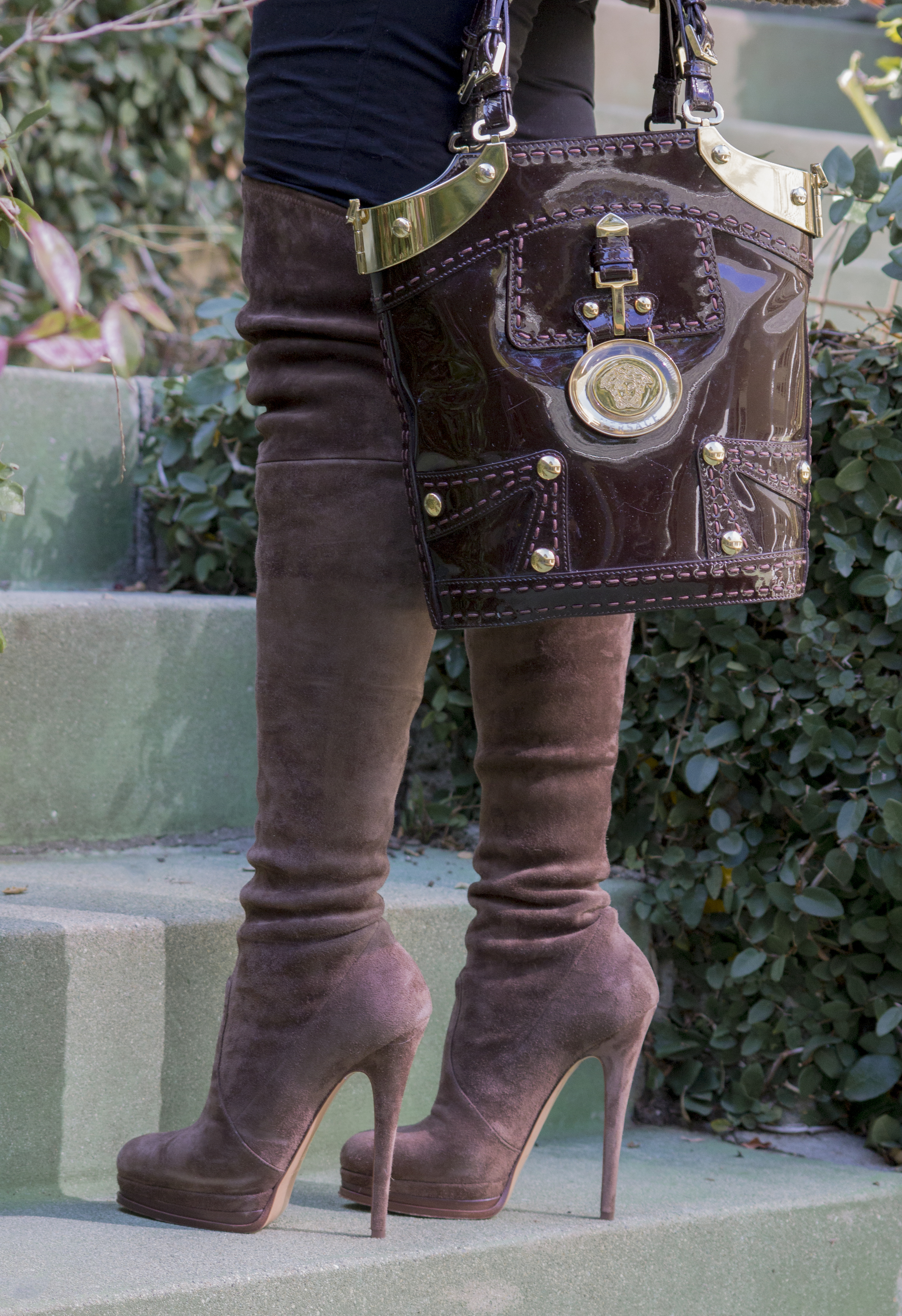 casadei over the knee boots