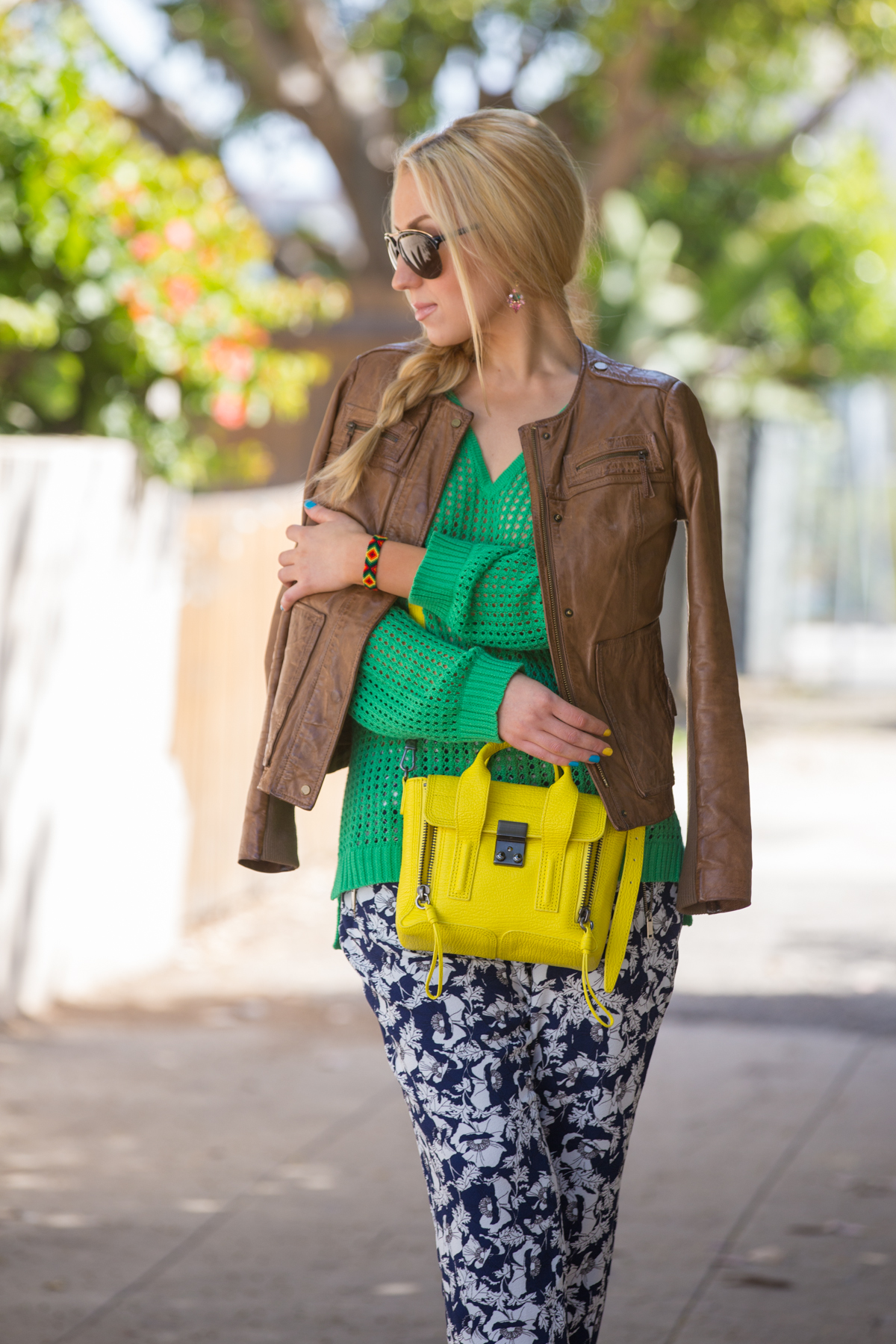 yellow and green