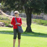 cropped pants,cross-body bag,picnic outfit,aviator sunglasses