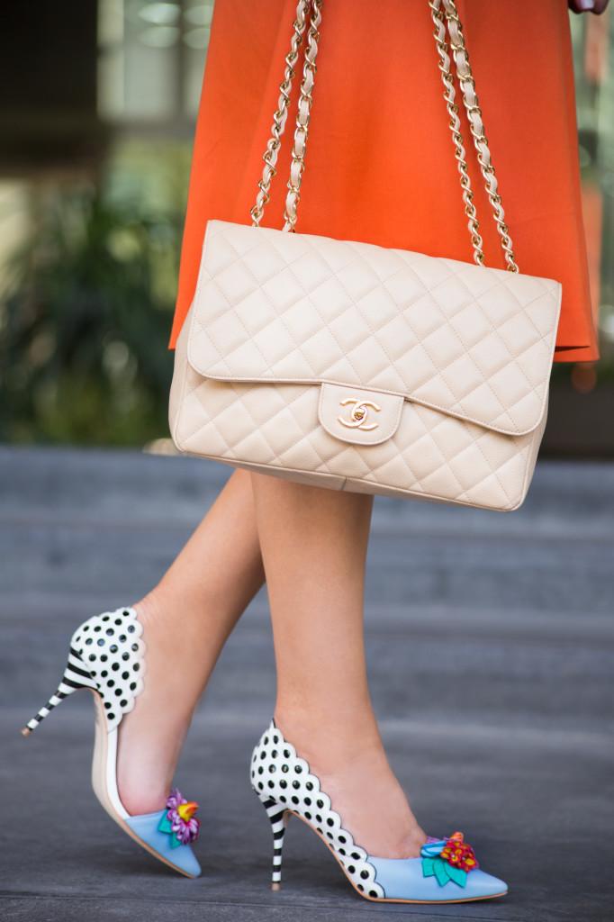 sophia webster shoes,floral pumps,polka dot shoes,flower shoes