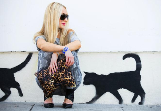 asos clutch,cats graffiti,LA fashion blogger,Los Angeles style blogger,melrose walls