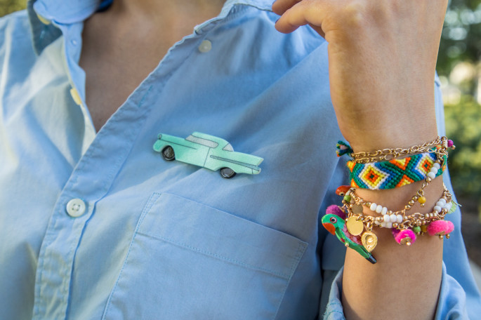 erstwilder broche,neon accessories ,bohemian bracelets,friendship bracelets,car brooch,hot rod