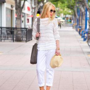 miu miu round retro sunglasses,white outfit,white on white look,hat off