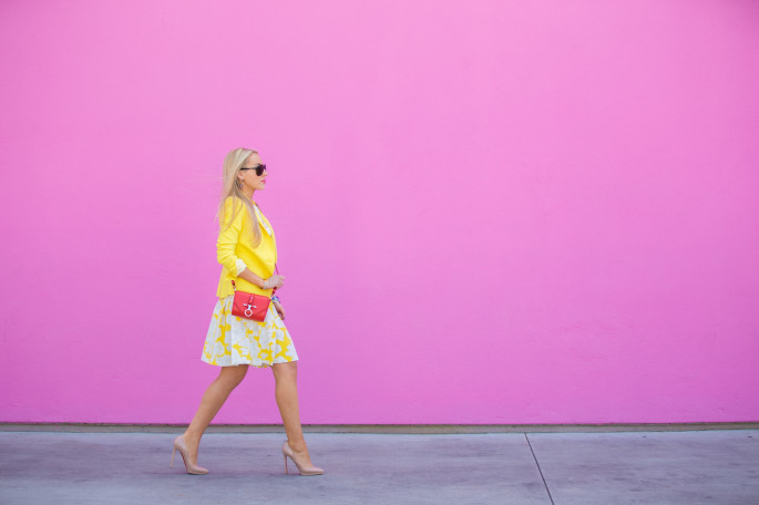 yellow blazer,zara jacket,pastel outfit,banana strawberry sundae