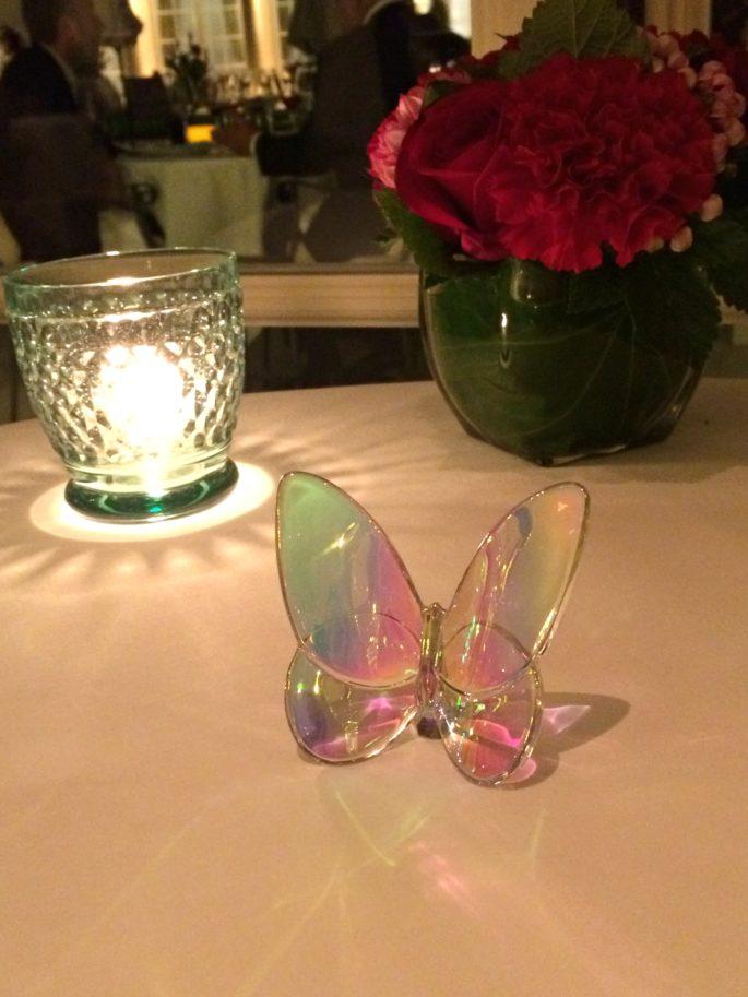 Birthday dinner in paris,butterfly,papillon