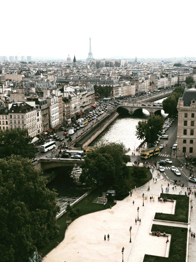 paris view from the notre dame,j'aime Paris,j'adore paris