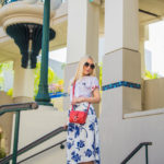 red and white outfit,white and blue midi skirt,floral midi skirt,red and navy, red and blue