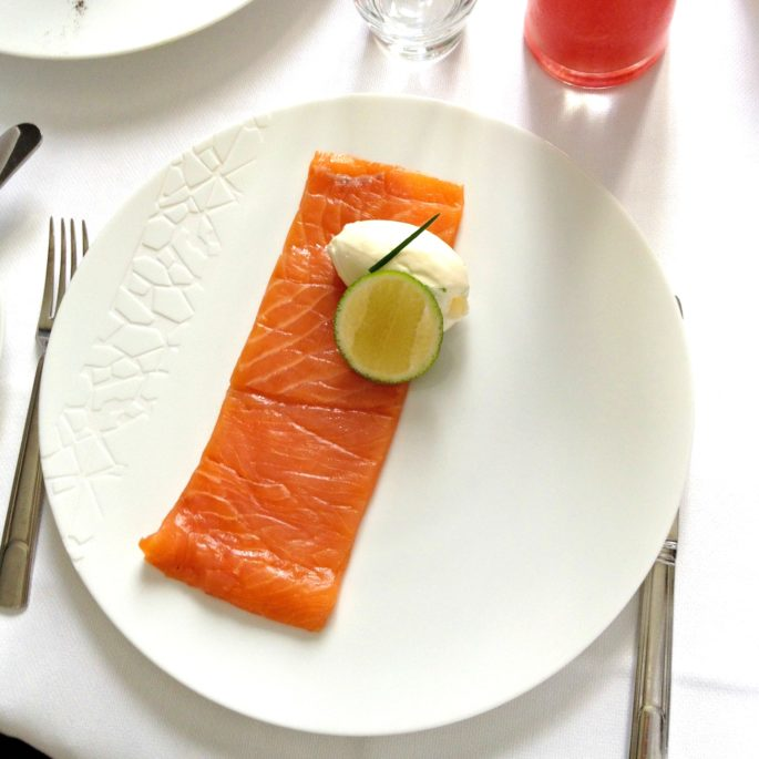 smoked salmon,breakfast in Paris,room service in Paris
