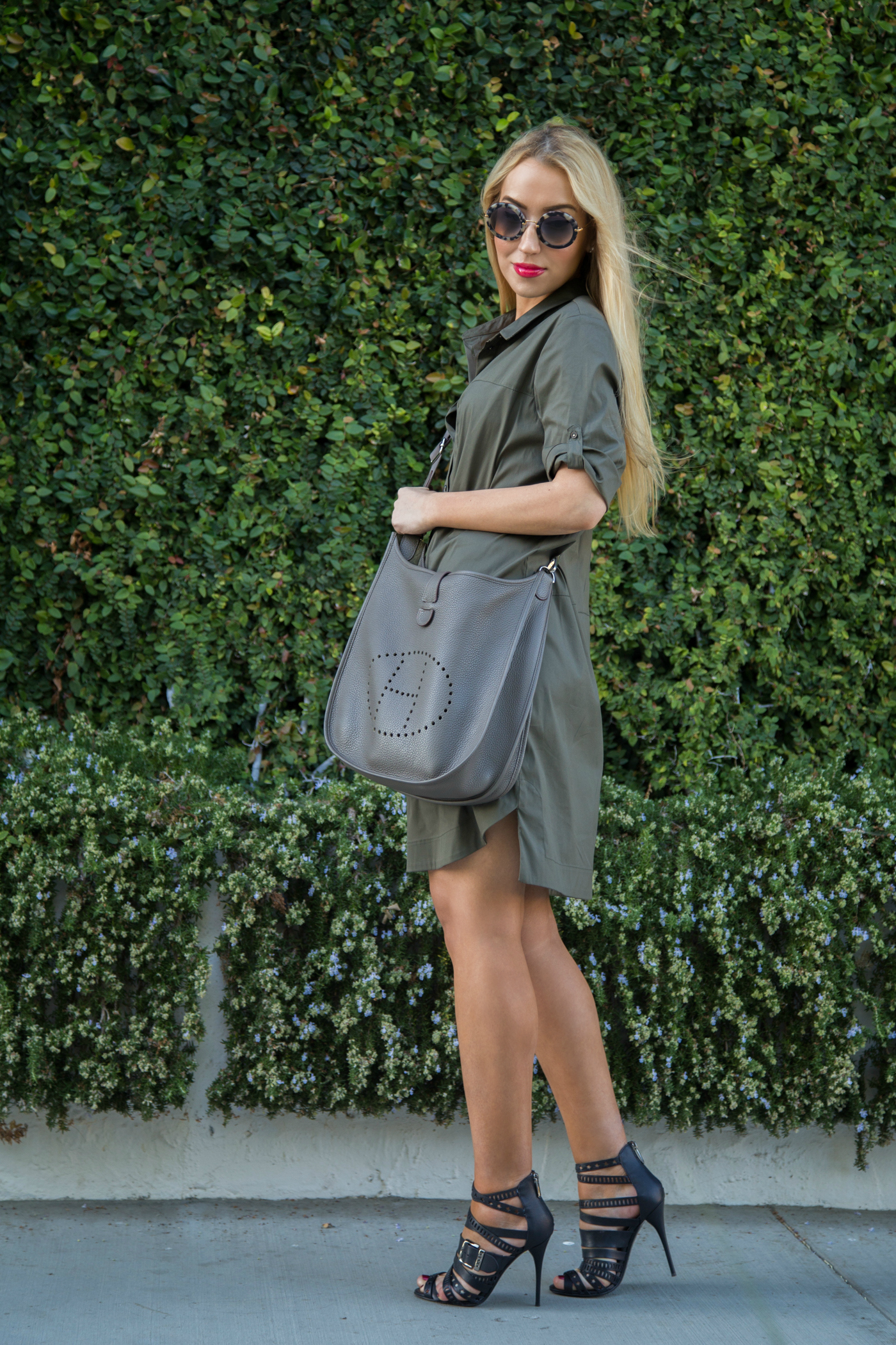zara shirt dress,zara dress,balmain shoes,evelyne bag,shirt dress,taupe bag
