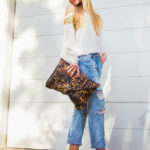 christian louboutin pigalle, ripped boyfriend jeans,zara jeans, leopard and jeans,leopard print bag,animal print bag