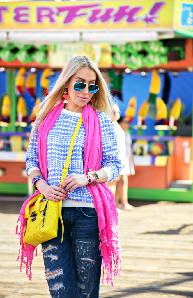 zara jeans 2014,flamingo earrings,YSL Rouge Volupte in Fetish Pink,phillip lim pashli mini yellow,pink and blue outfit,pink love,splatter paint,pink love,pink scarf,chunky heel boots,3.1 PHILLIP LIM Mini Pashli Satchel,flamingo love