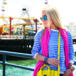 zara jeans 2014,flamingo earrings,phillip lim pashli mini yellow,pink and blue outfit,pink love,splatter paint,pink love,pink scarf,chunky heel boots,3.1 PHILLIP LIM Mini Pashli Satchel,flamingo love