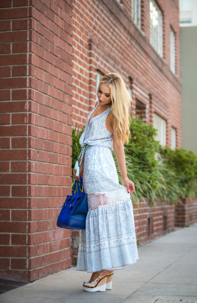 Tassel rope belt,Hale Bob Petunia Dress,Hale Bob Maxi Dress,Bohemian Maxi dress,Ralph Lauren Ricky Bag,Madewell Hat,How to wear maxi dress in the city,Vacation Outfit Idea 2005,Ricky Bag,Maxi dress and wedge sandals,Madewell  Straw messa Hat,Jcrew tassel rope belt,Crochet Maxi Dress,Lace crochet detail
