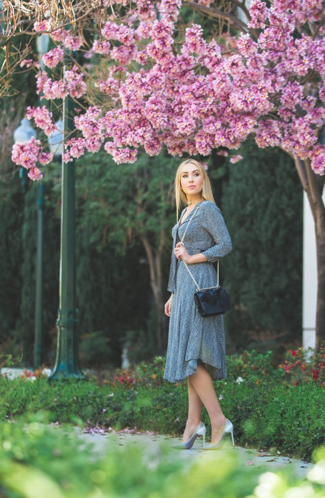 pink trumpet tree,pink clouds,valentino camo lock bag,Tylho Acadie Tie-Neck Dress,Valentino camo bag,anthropologie dress,anthropologie pussybow dress,Anthropologie Acadie Tie-Neck Dress,chanel choker necklace, christian louboutin tucsick pumps,christian louboutin pumps