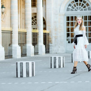salvatore-ferragamo-earrings,palais-royal-photo-shoot,erdem-alexis,erdem cold shoulder-dress,erdem-dress,white-dress-with-lace-boots,palais-royal-fashion-photo-shoot,erdem-white-dress,christian-louboutin-boots,erdem-alexis-dress,palais-royal,christian-louboutin Boteroboot lace-boots