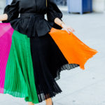 Colorful Pleats
