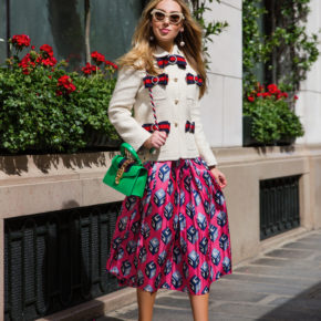 Gucci 2017,Gucci GG vintage web tweed jacket,Gucci vintage web tweed jacket,Gucci Jacket,Gucci Luna Satin pearl studded pump,gucci tweed jacket,Gucci GG Wallpaper print silk skirt,Gucci Wallpaper-print pleated silk midi skirt,GUCCI 2017 WEB BOW DETAILS LIGHT TWEED JACKET,Gucci Pearl detail shoes,GUCCI BOW DETAILS LIGHT TWEED JACKet,Paris Bristol Hotel,Gucci Sylvie mini bag,Gucci GG Wallpaper-print pleated silk midi skirt