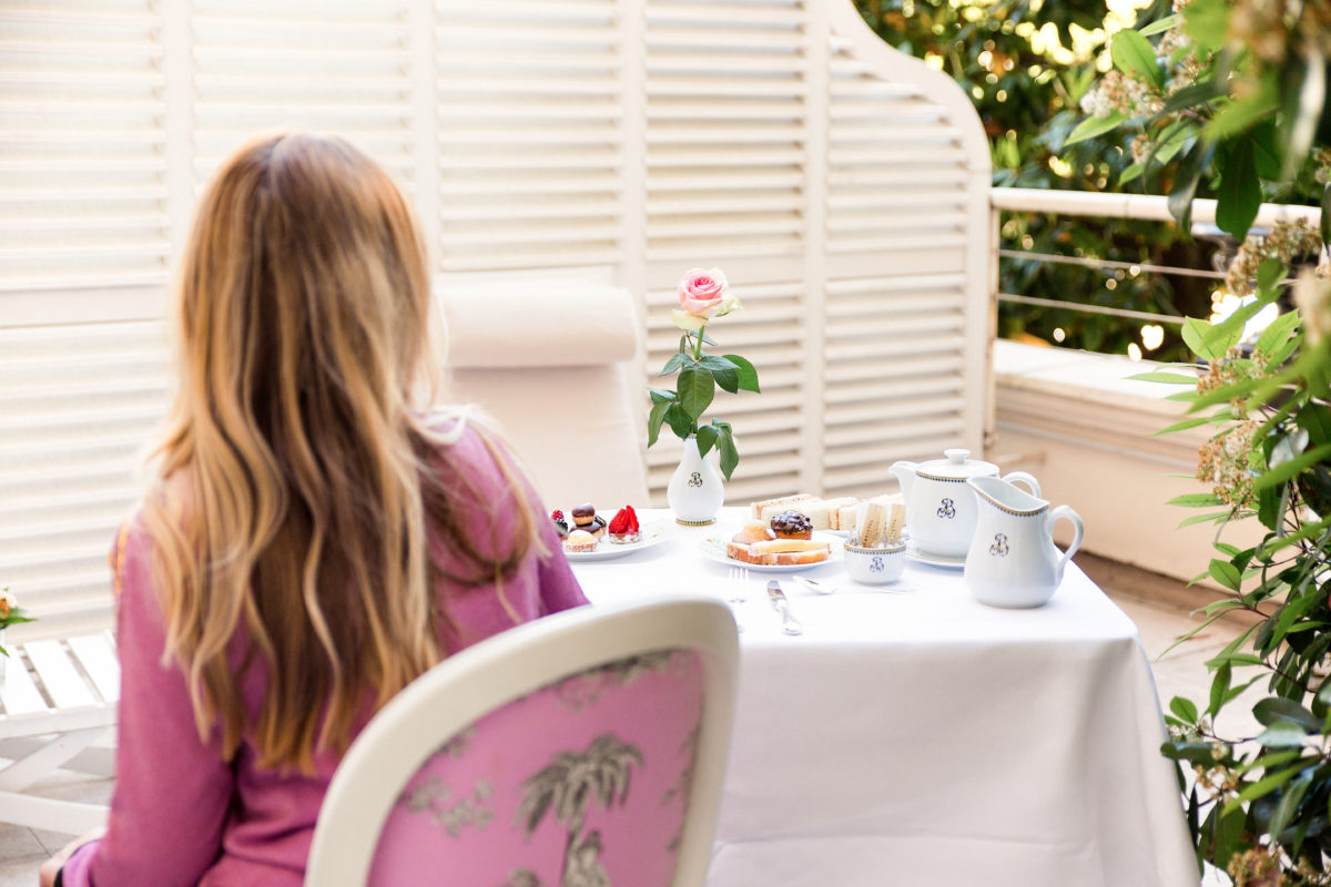 Afternoon Tea at Le Bristol Paris