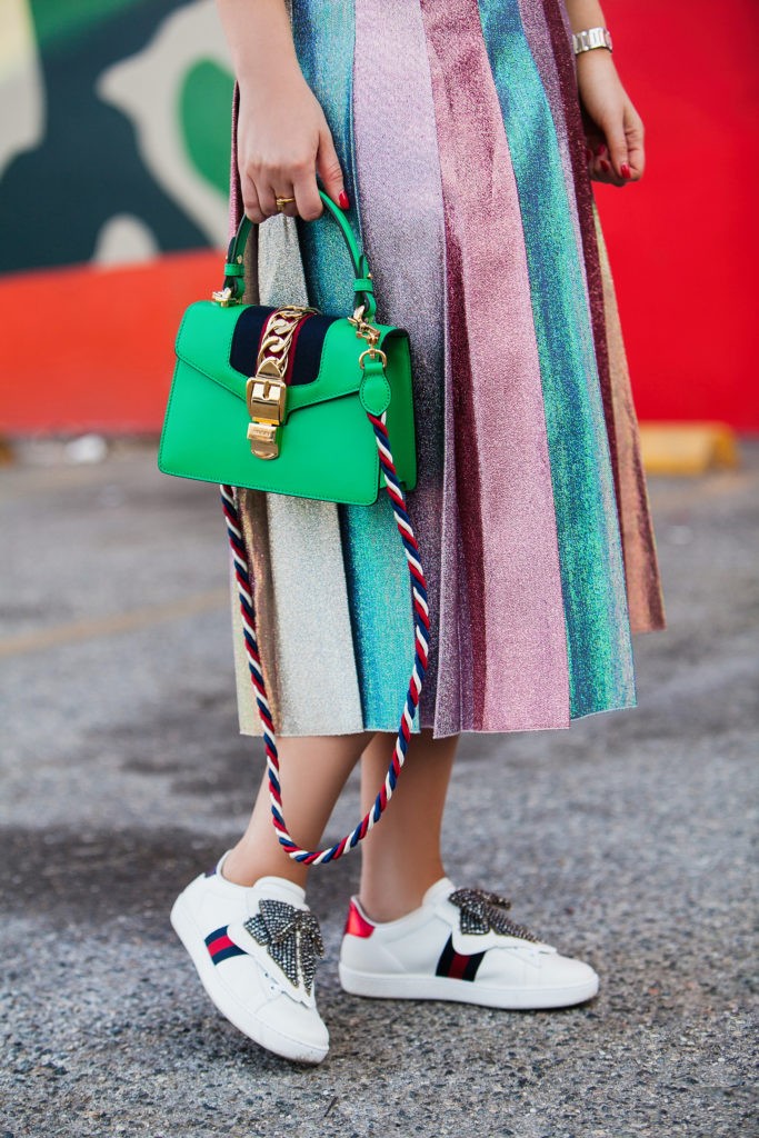 BEST OF LA MURAL,Gucci street style 2017,Gucci Pleated lamé midi skirt,Gucci logo cotton T-shirt,Gucci logo collared cotton T-shirt,Best of LA street art mural,Gucci fake t-shirt,Gucci Logo-Print T-Shirt with Removable Sequin-Embroidered Collar,Gucci sylvie-mini-leather-crossbody-bag,Gucci New Ace Crystal Bow Sneaker,Gucci sylvie,Gucci ace bow sneakers,Gucci New Ace Crystal Sneaker,Gucci lamé midi skirt