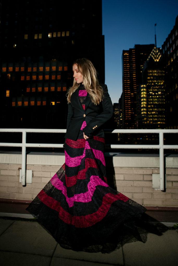 NYC rooftops and lights,Sachin & Babi trinity earrings,Sachin & Babi Trinity Earrings,Sachin & Babi lace dress,Sachin & Babi Venad Floor-Length Lace Gown,Sachin & Babi Venad Floor-Length Gown,Balmain black blazer,Sachin & Babi lace maxi dress,Sachin & Babi dress,New York city lights,NYC lights,Miu Miu Velvet Tassel Bag,Miu Miu mini tassel bag,Miu Miu Velvet Tassel Clutch Bag,NYC rooftops