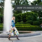 How to Dress Up Denim