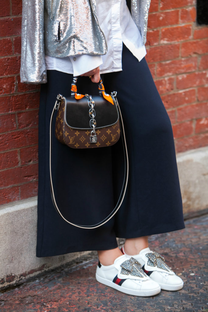 LV CHAIN IT BAG,Louis Vuitton CHAIN IT BAG,Celine cat eye sunglasses,Ace sneaker with removable patches,Iro moto sequin jacket,gucci bow sneakers,Ace sneaker with removable bow patch,CHAIN IT BAG by Louis Vuitton,Gucci Ace sneaker with removable patches,IRO Sequin Jacket,how to wear sequins,sequins for day time,IRO Oliv Sequin Jacket,gucci sneakers,Gucci Ace sneaker with removable bow patch,H&M culottes,Sequins for Day time