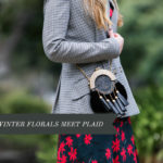 Dark Winter Florals Meet Plaid